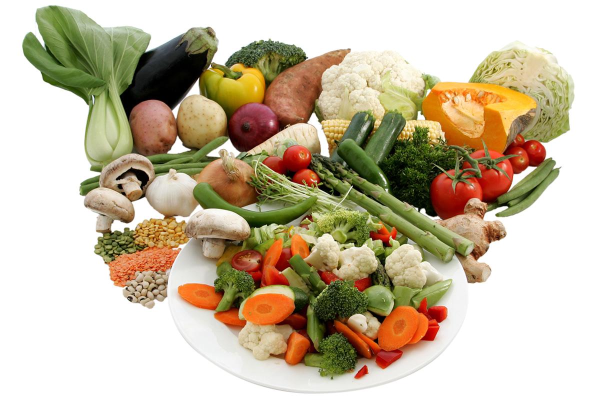 Régime Méditerranéen, Légumes et Légumineuses
