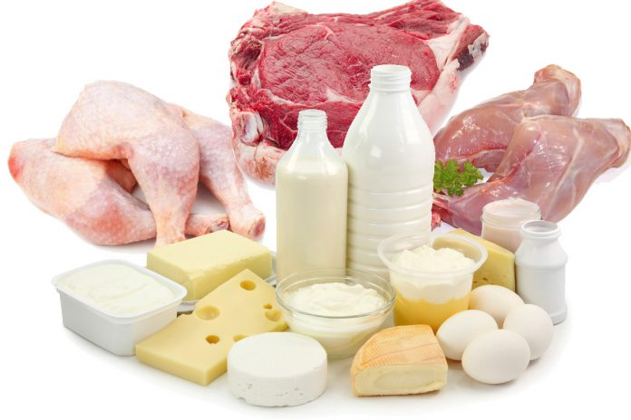Le régime méditerranéen et la consommation de viande, produits laitiers et oeufs