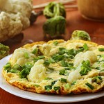 Une croûte à pizza sans farine