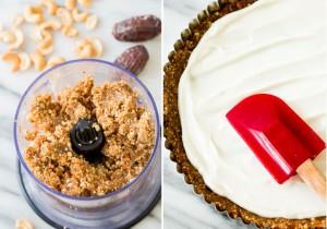 Tarte aux fruits et au yaourt grec