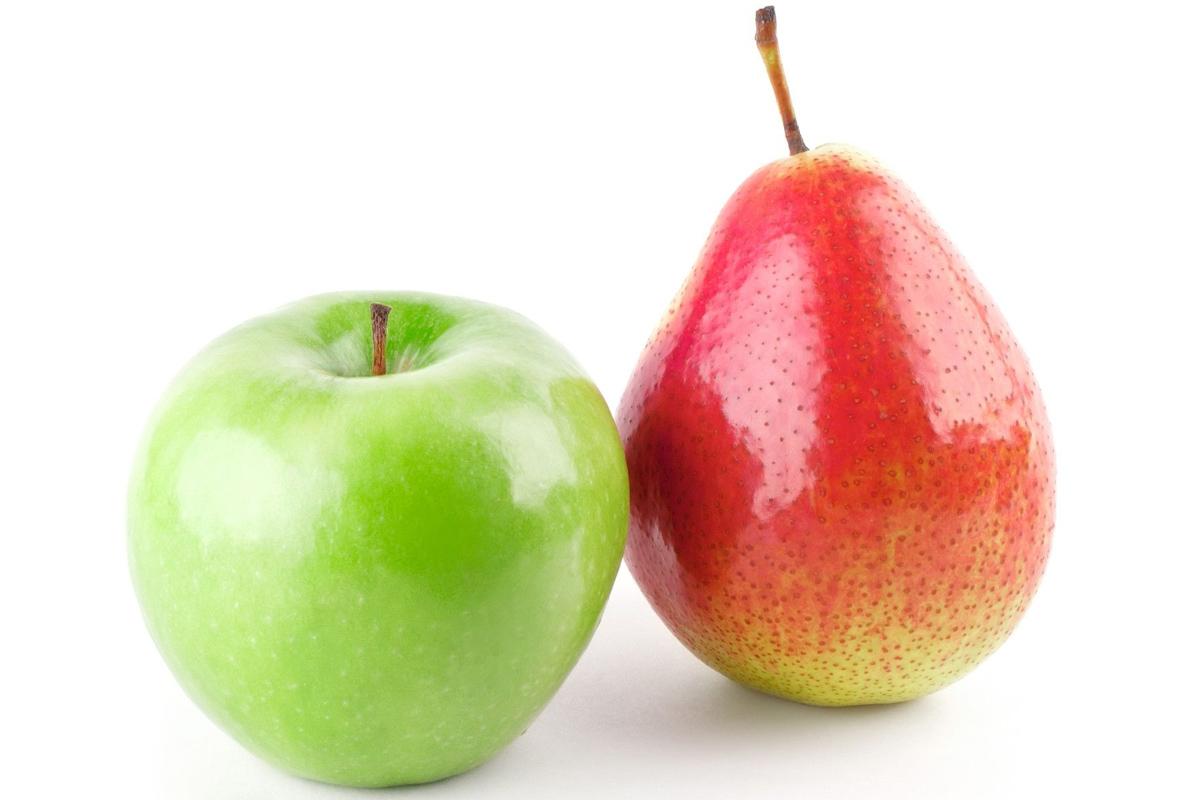 Etes-vous une pomme ou une poire ?