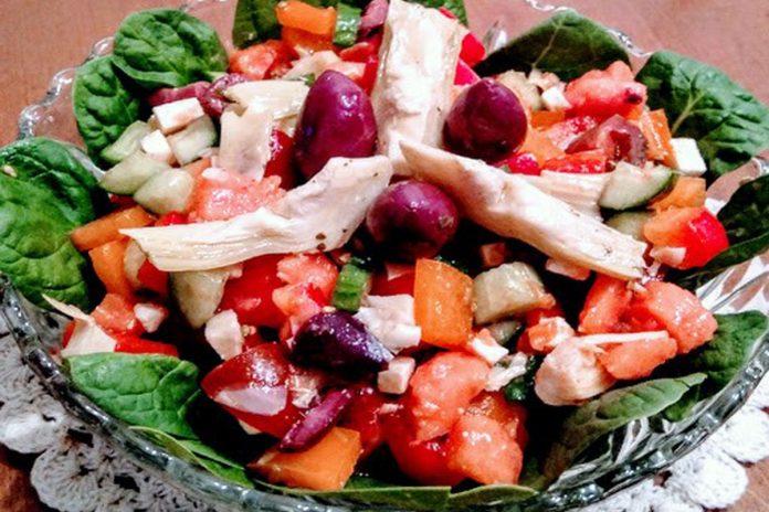 Salade estivale multicolore !