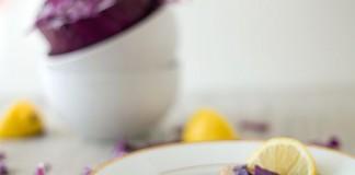 Sauté de chou rouge, câpres et ail au citron