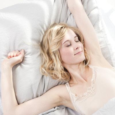 Dormez sur une taie en soie