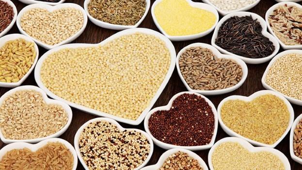 Introduisez des grains entiers