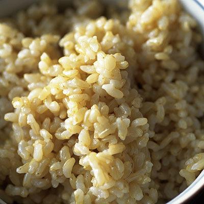 Le riz brun