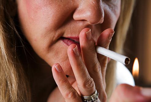 Les pauses cigarettes