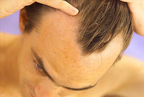 Le masque nutritif pour les cheveux bruns