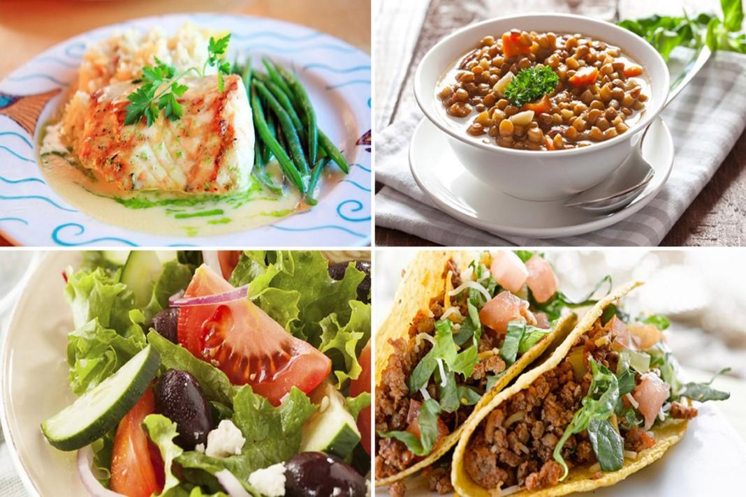 Diabète de type 2 : Menus dîners de la semaine, pour le prévenir !