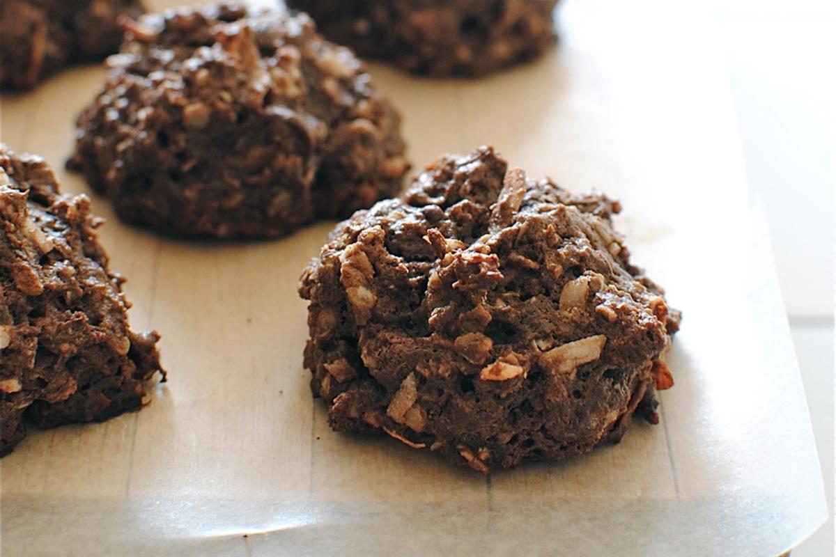 Biscuit à l'avoine et au chocolat noir