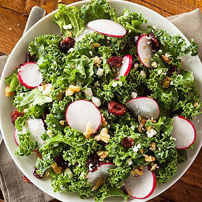 Au buffet de salade