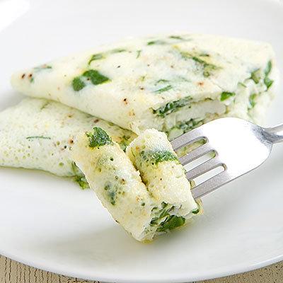 Au lieu d une omelette au cheddar avec deux œufs