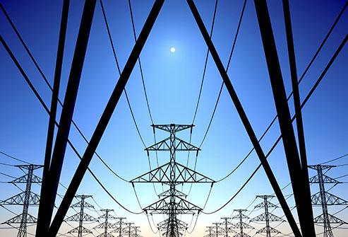 Les lignes electriques