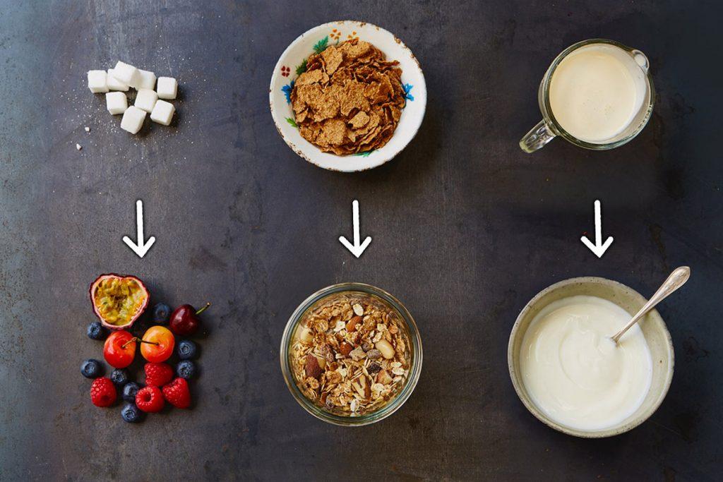 5 changements pour un petit d jeuner plus sain manger m diterran en - Recette petit dejeuner sain ...
