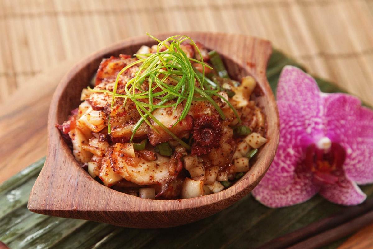 Kimchi au poulpe