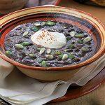 soupe tomate cremeuse-soupe de haricots noirs