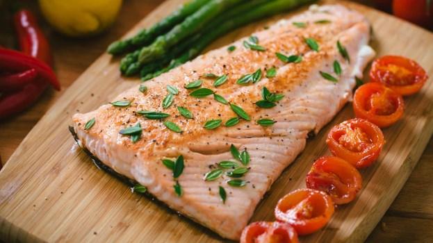 Le saumon pour les omega-3