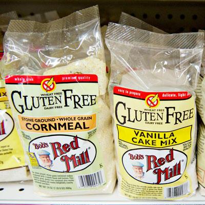 Les aliments sans gluten