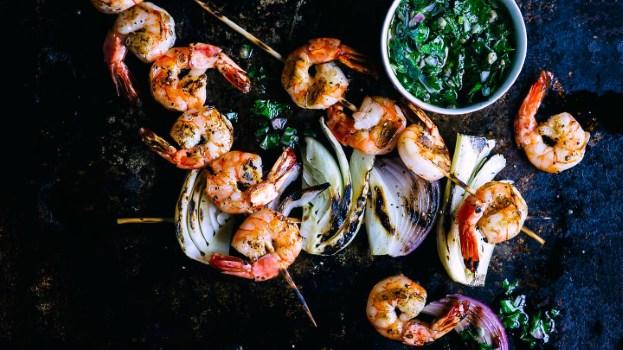 Les crevettes pour controler les calories