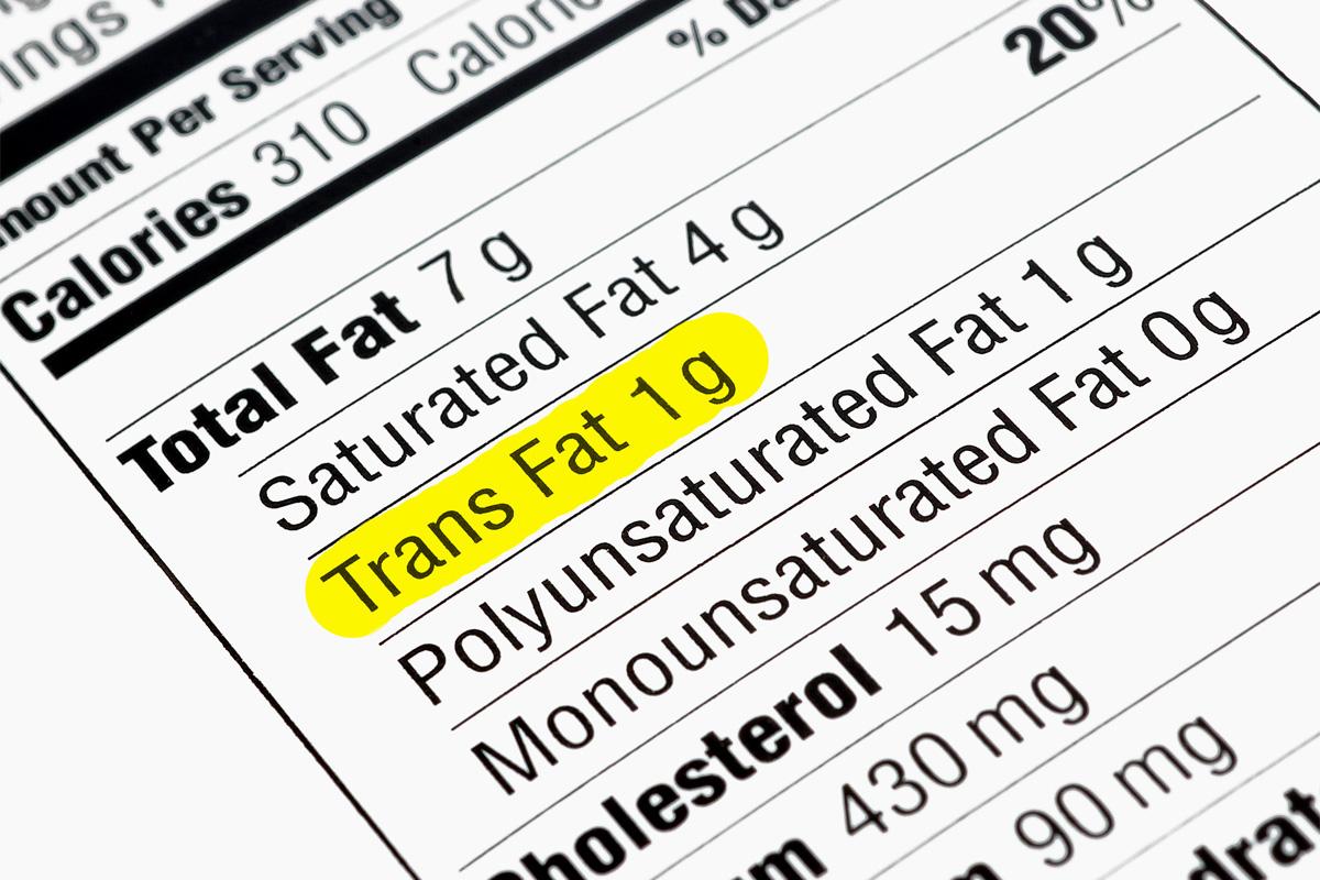 Les 22 pires aliments qui regorgent de gras trans !