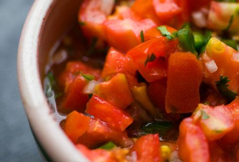 Trop de tomates peut stimuler la miction