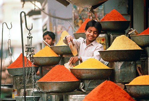 epice en Inde