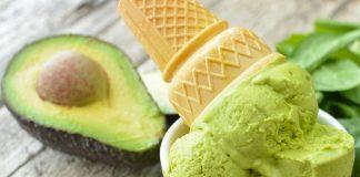 Crème glacée à l'avocat