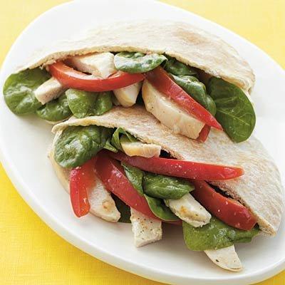 sandwich-pita-au-poulet