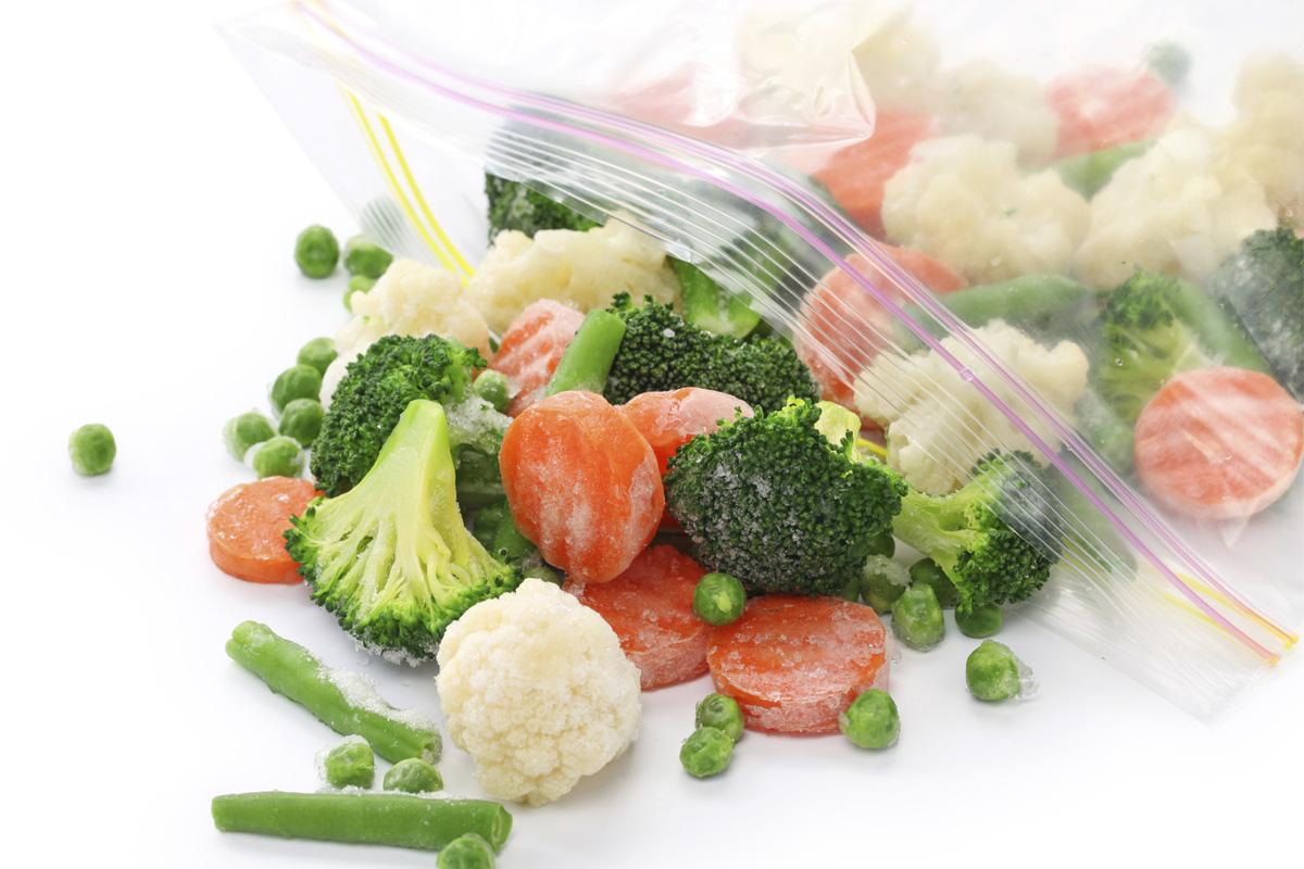 Les fruits et légumes surgelés sont d'excellentes sources de vitamines C, E et B2, même après 90 jours de stockage !