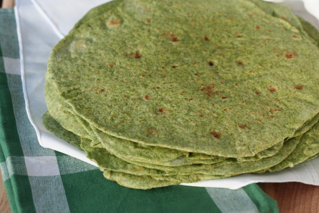 Tortillas aux épinards