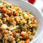 Salade de boulgour à l'orange