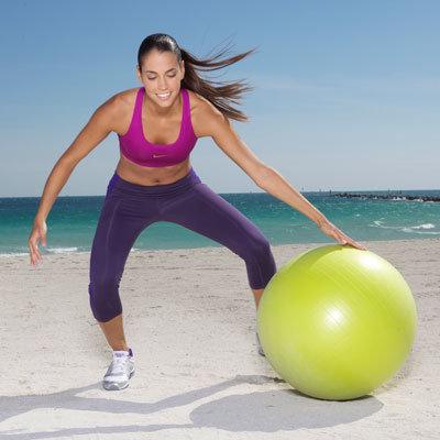 Remaniement de ballon avec pas chasse lateral