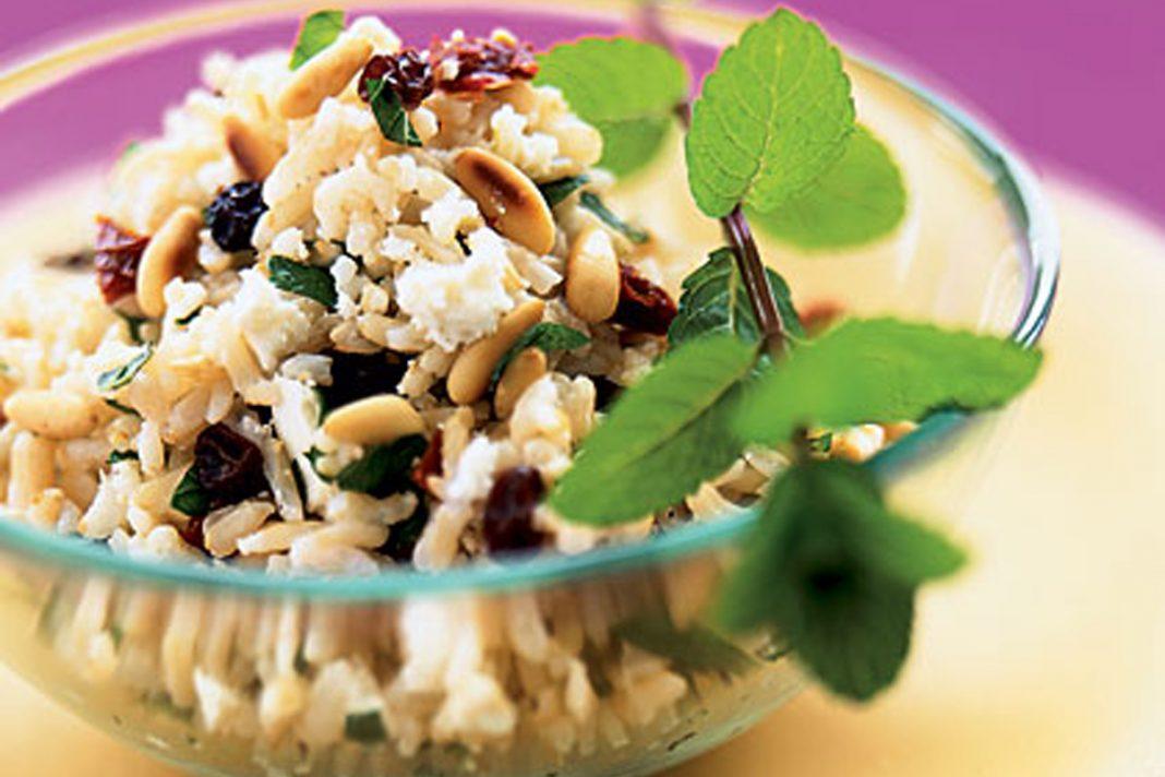 Salade de riz Basmati à la méditerranéenne