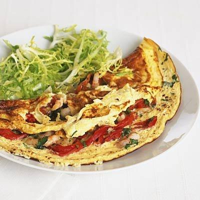 omelette-vegetarienne