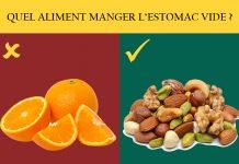 15 aliments à manger et à éviter l'estomac vide !