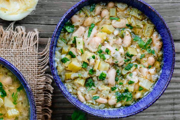 FASOLADA, soupe grecque de haricot