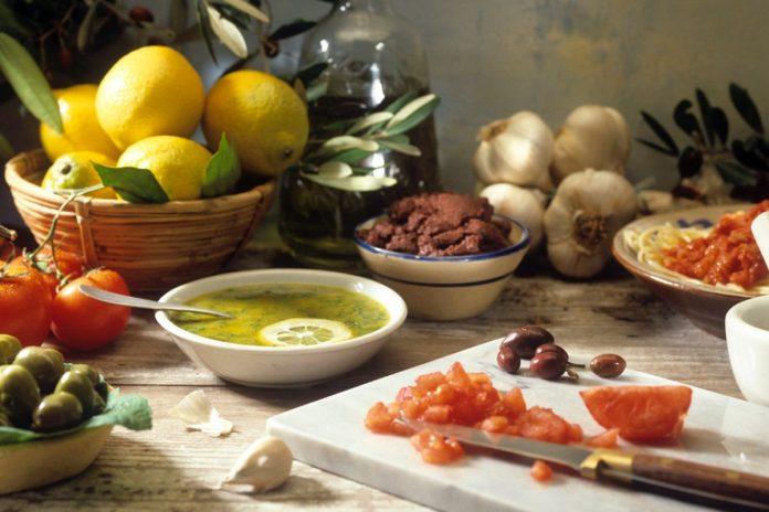 Régime méditerranéen, une pratique alimentaire saine.