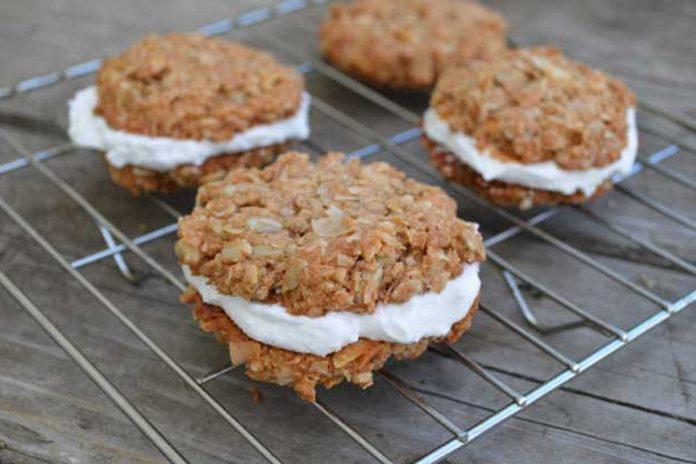 Cookies protéinés aux noix de coco