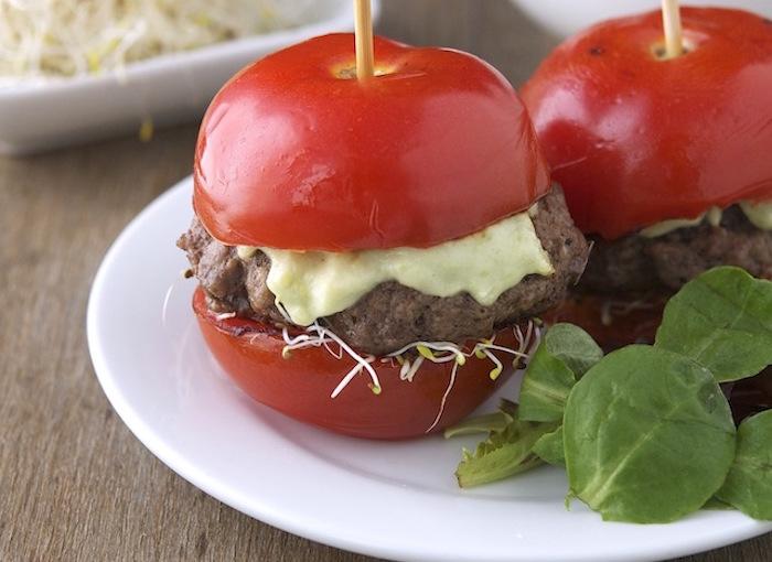 Burgers de tomate