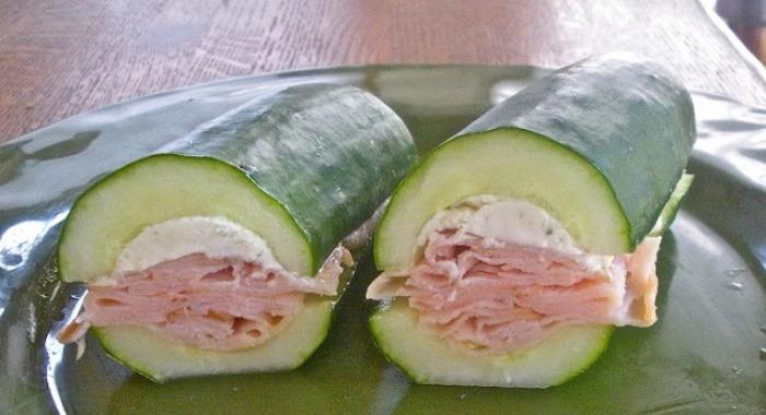 Sandwich de concombre