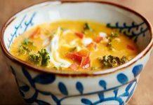 Ragoût incroyable - chou-fleur, huile d'olive, lait de coco, gingembre et curcuma !