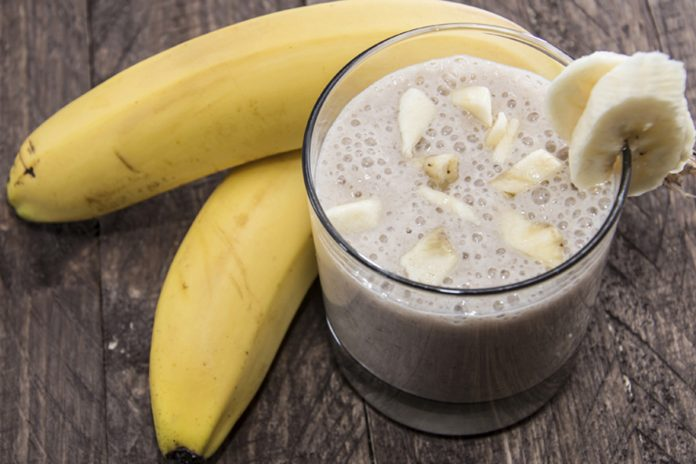 Smoothie banane gingembre pour aider à brûler la graisse !