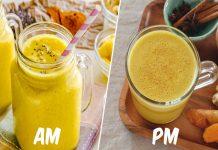 2 boissons au curcuma contre la douleur et l'inflammation !
