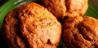 Muffins anti-inflammatoires de patate douce au gingembre, cannelle et sirop d'érable !