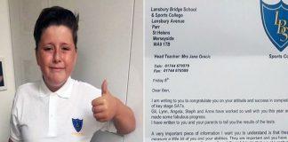 Un garçon atteint d'autisme échoue aux examens et reçoit la lettre la plus inattendue de l'école !