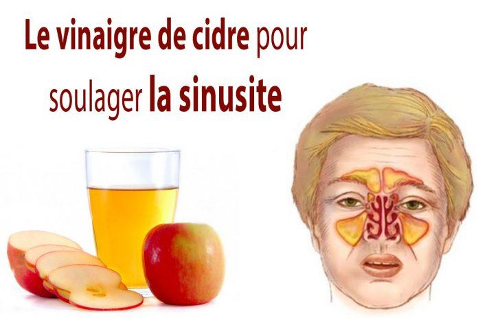Eliminez l'infection des sinus en quelques minutes, avec du vinaigre de cidre !