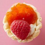 Mini tartelettes à l'abricot et à la framboise