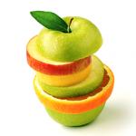 Tranches de fruits