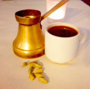 café a la cardamome