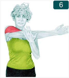 Étirement latéral des épaules